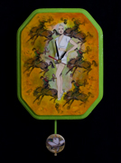 Thumbnail Kitch Art Clock - Giddy Up