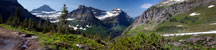 Thumbnail: Glacier National Park - View from Highline Trail
